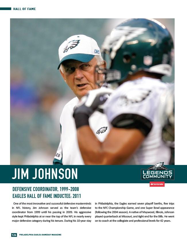 2018 Philadelphia Eagles Gameday 8 - Page 128