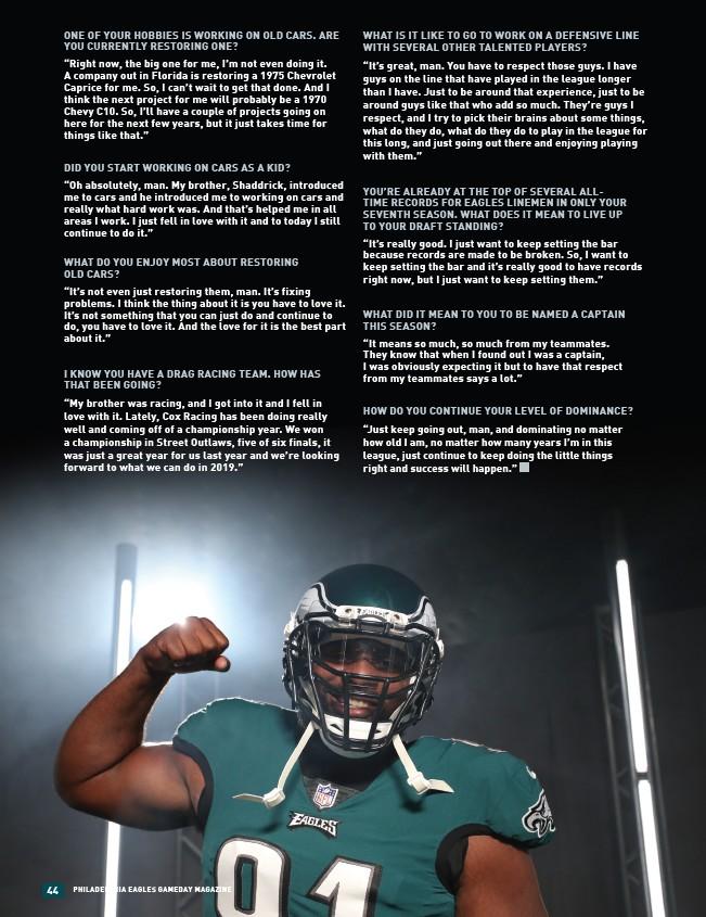 2018 Philadelphia Eagles Gameday 8 - Page 46