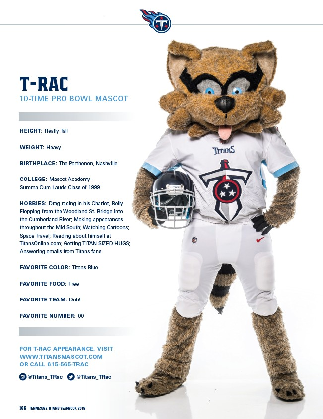 275333c0 2018 Tennessee Titans Yearbook - Page 168