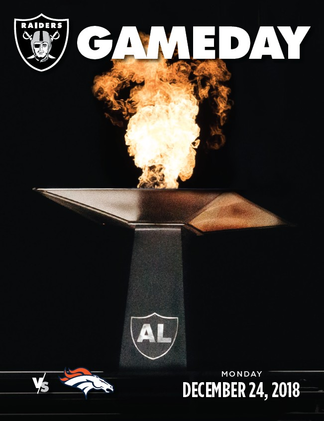 2018 Oakland Raiders Gameday 8 - Page 76