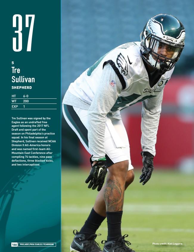 online retailer 5902b 88d30 2018 Philadelphia Eagles Yearbook - Page 168