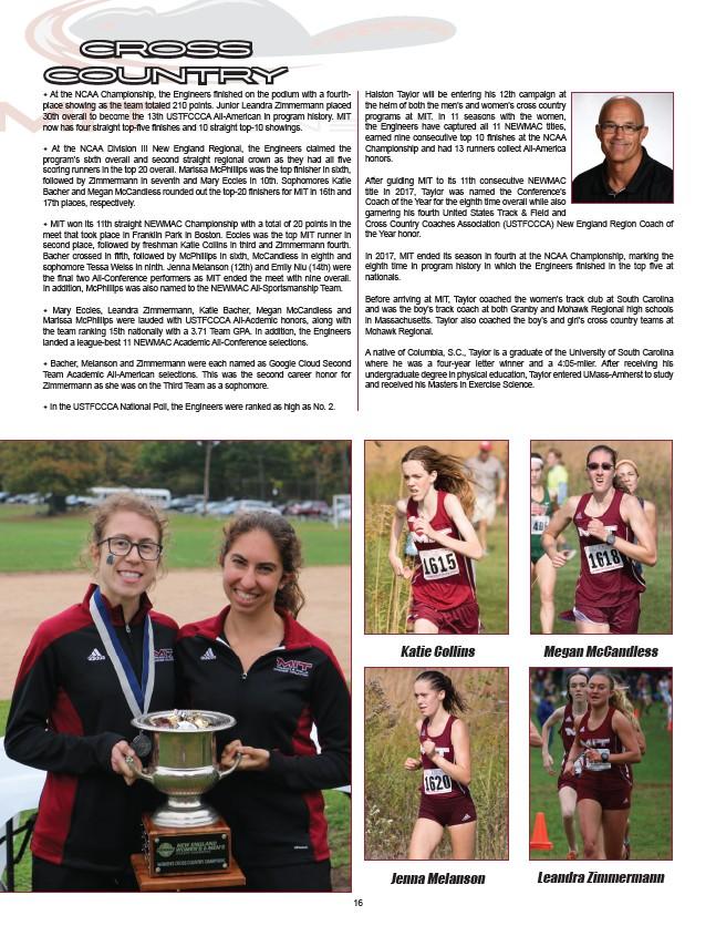 premium selection e79cf dd5b7 2018-19 MIT Sports Annual - Page 18