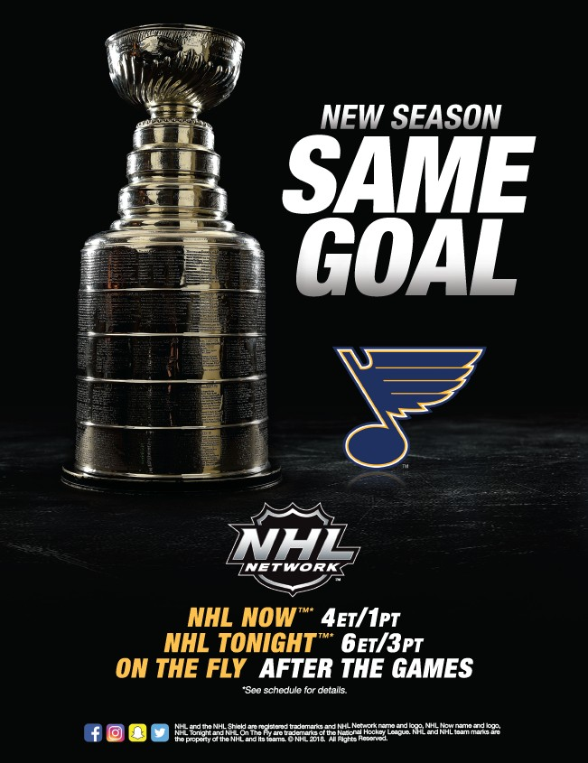 2018 19 St Louis Blues Yearbook Page 19